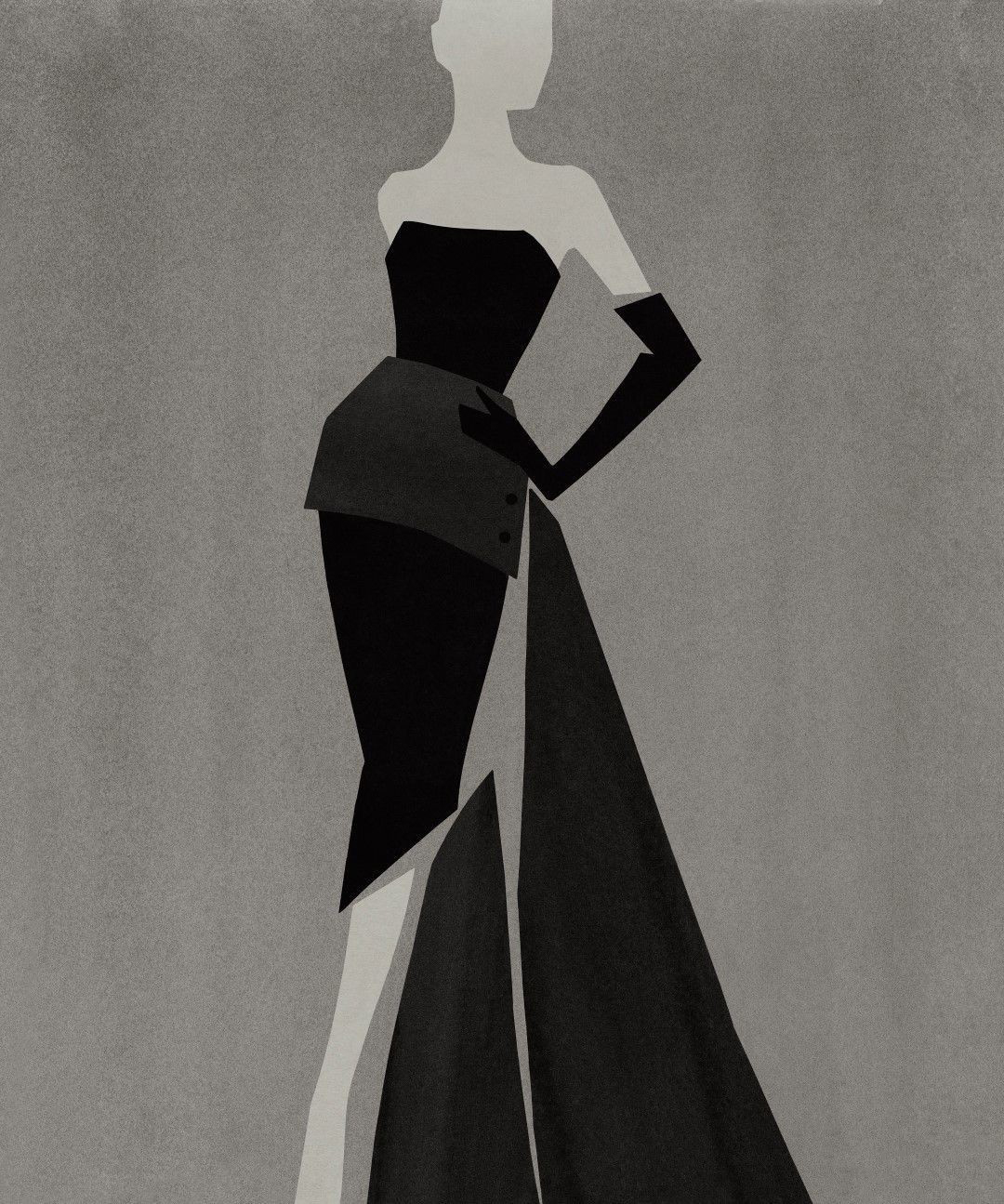 Dior by Mats Gustafson 插画1