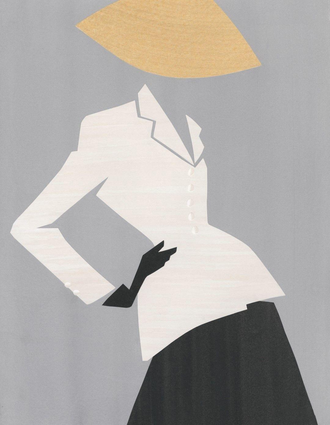 Dior by Mats Gustafson 插画作品3