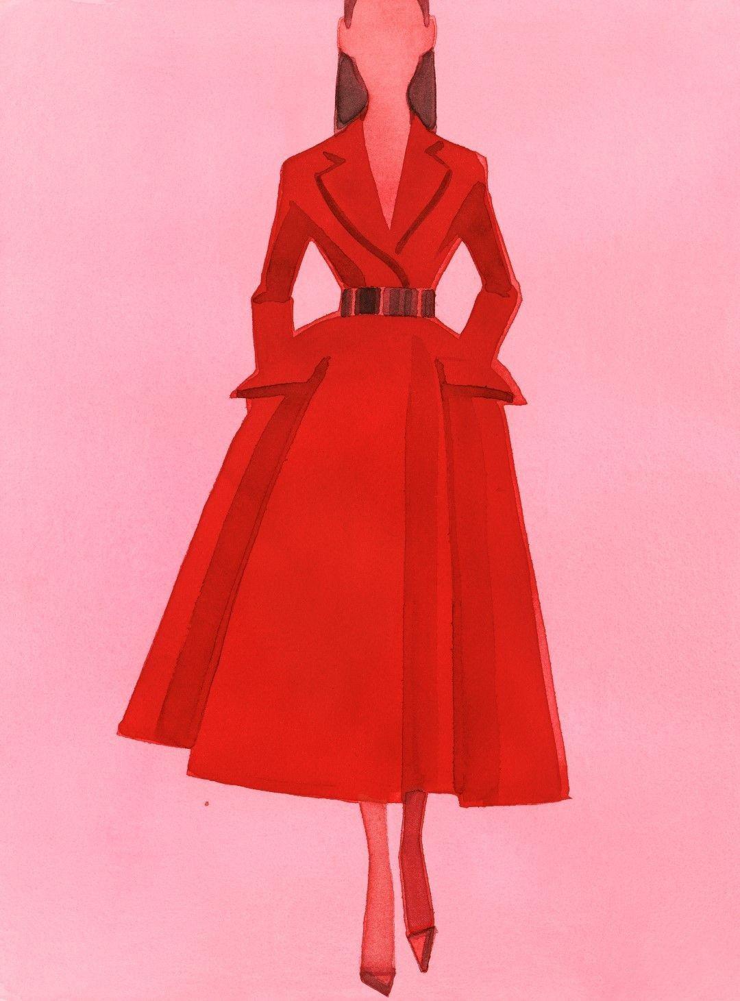 Dior by Mats Gustafson 插画作品2