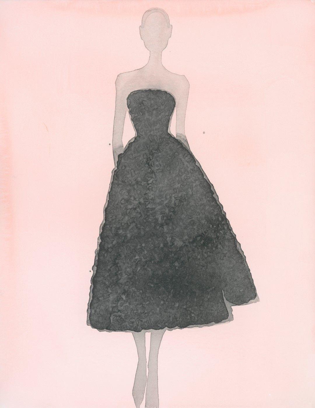 Dior by Mats Gustafson 插画作品4