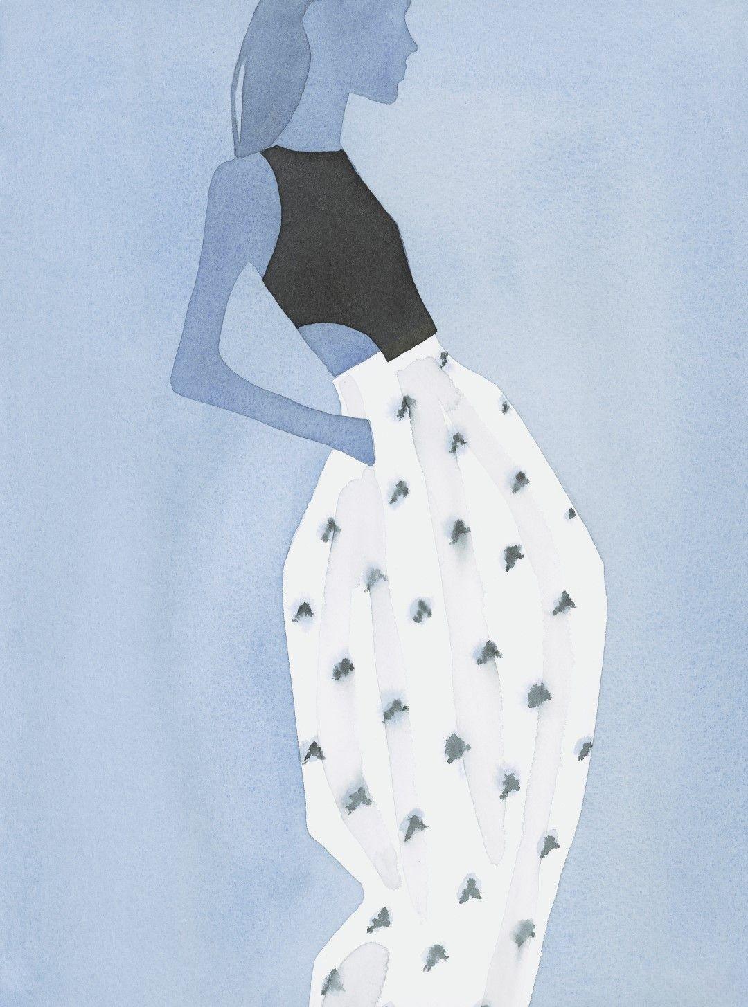 Dior by Mats Gustafson 插画作品6