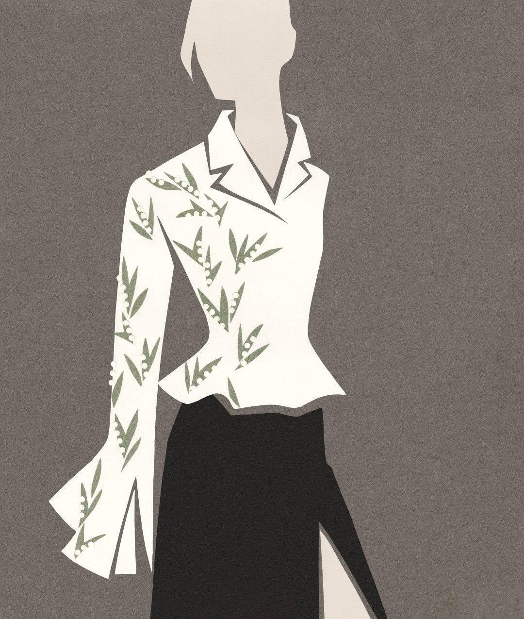 Dior by Mats Gustafson 插画作品7
