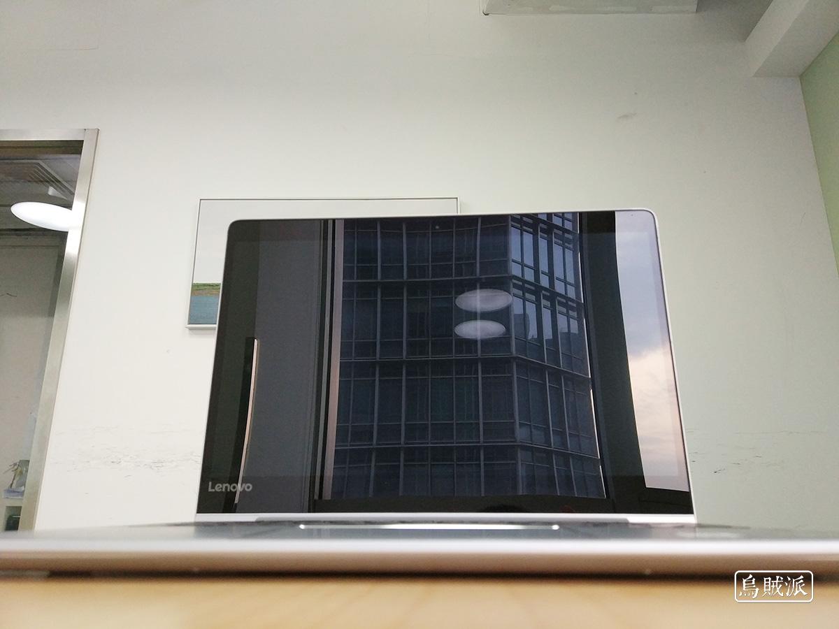 联想小新 Air 13 Pro 的屏幕反光