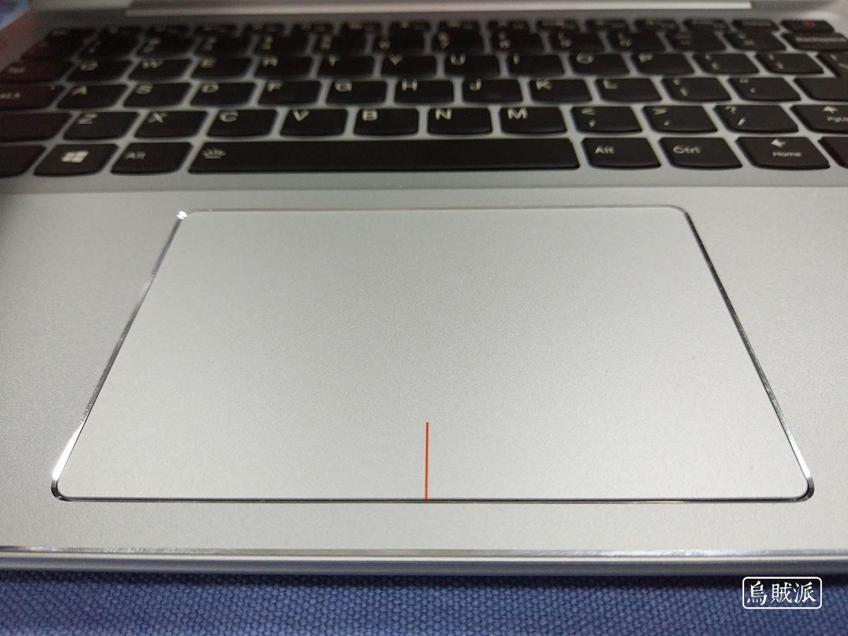 联想小新 Air 13 Pro 的触控板区域